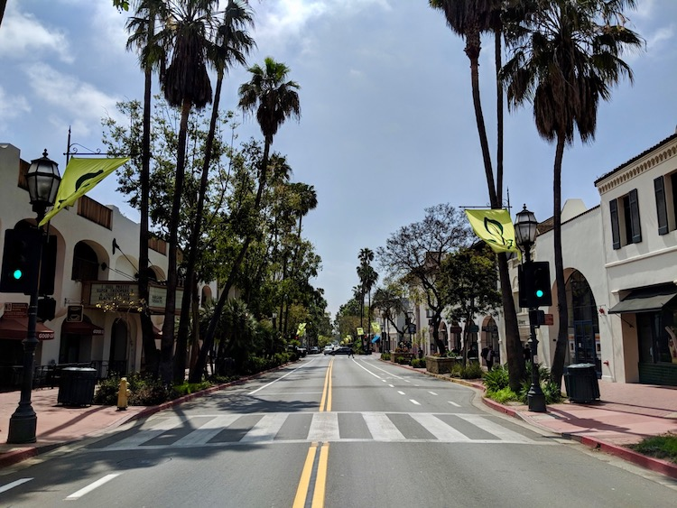 one day in Santa Barbara