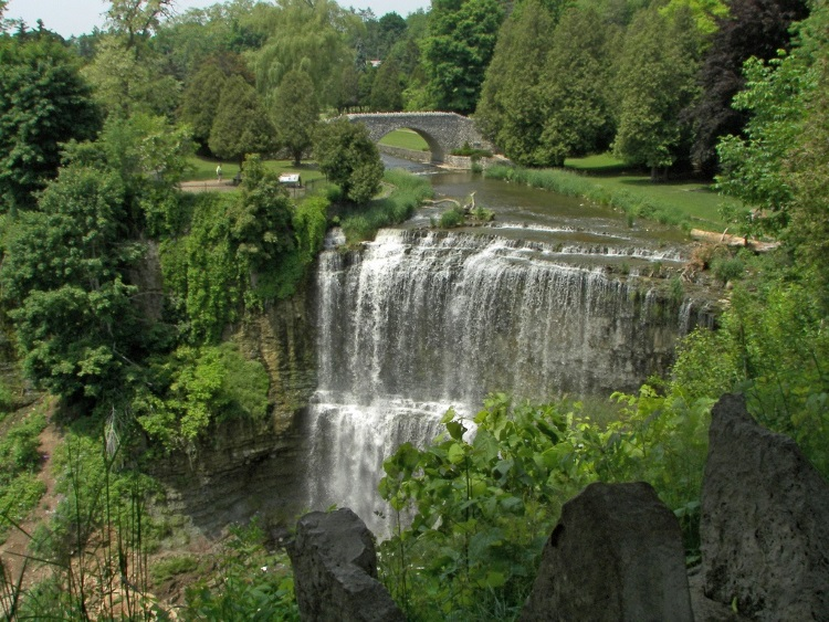 Webster's Falls -A short list of some of the nicest waterfalls in Hamilton, complete with nearby walking and biking trails.
