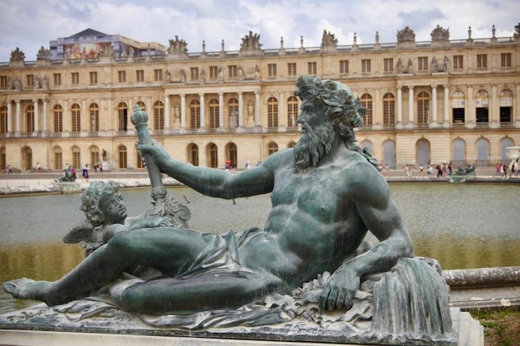 first trip to Paris, Versailles, Take walks tour