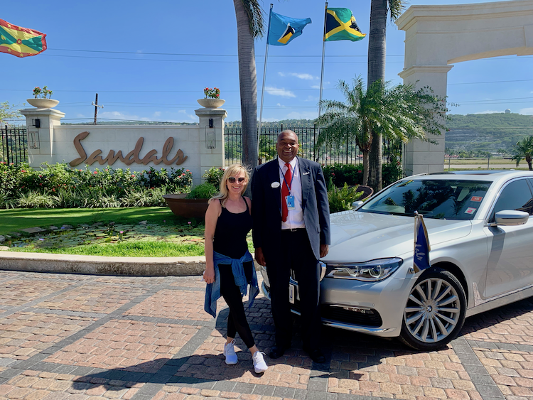 Sandals Montego Bay, BMW Transport from Montego Bay airport