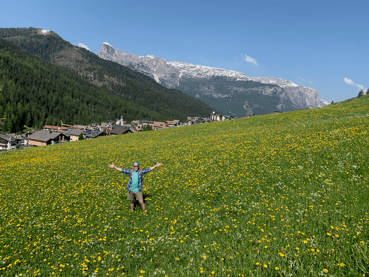 Hiking in Italy, Climb Every Mountain, The Hills Are Alive, San Cassiano