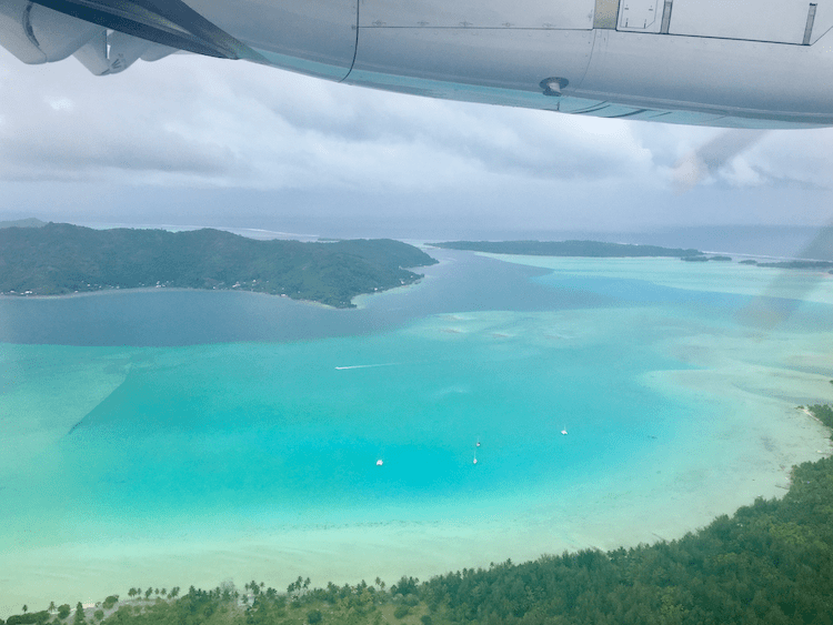 Tahiti on a budget, getting there, flying to Tahiti, what airlines go to Tahiti