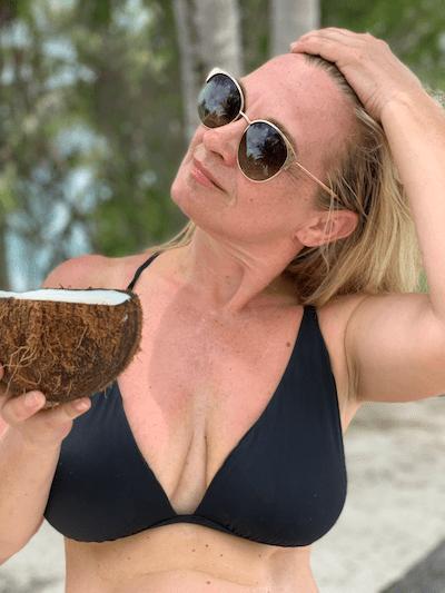 Tahiti on a budget, coconut,