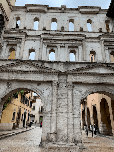 Porta Borsari, Verona, best tours in Northern Italy, LivItaly Tours