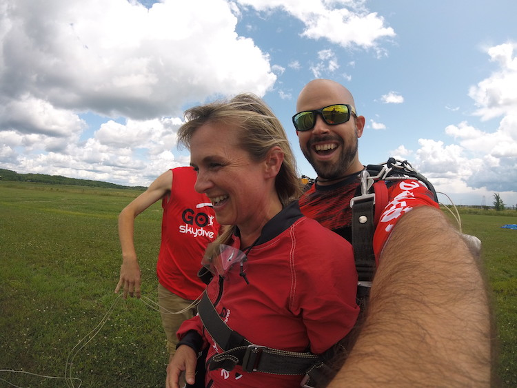 skydiving in Ottawa, go skydive Ottawa