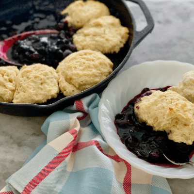 Blueberry Grunt – A Traditional Cape Breton Recipe