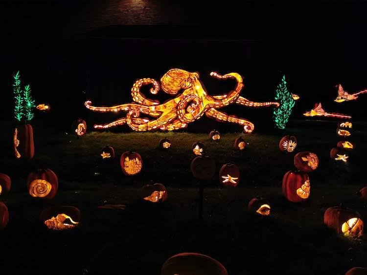Pumpkinferno Under the Sea