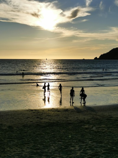 go to Mazatlán, there are tons of swimmable beaches in Mazatlán