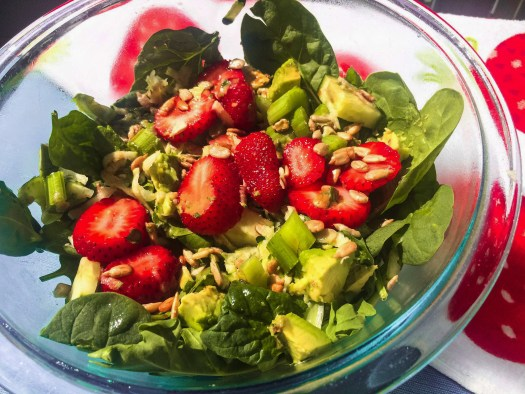 Savor Summer Strawberry Salad
