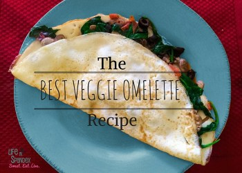 Best Veggie Omelette Recipe - breakfast for dinner