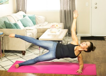 Toned Abs Home Mat Workout