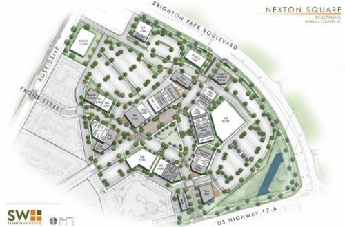 site plan nexton square