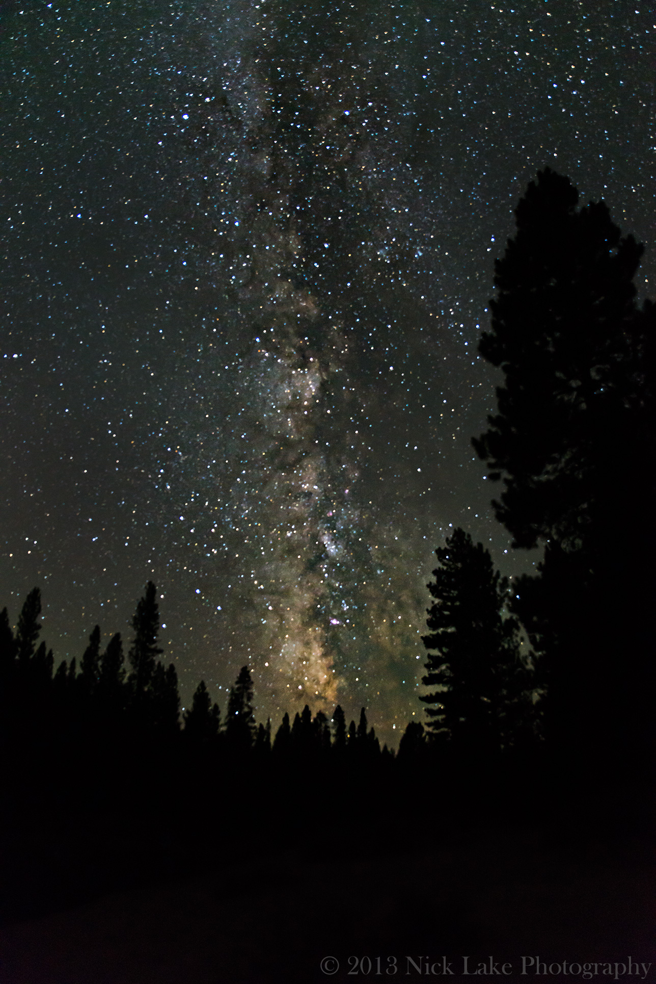 Milky Way Deschutes River Bend Oregon