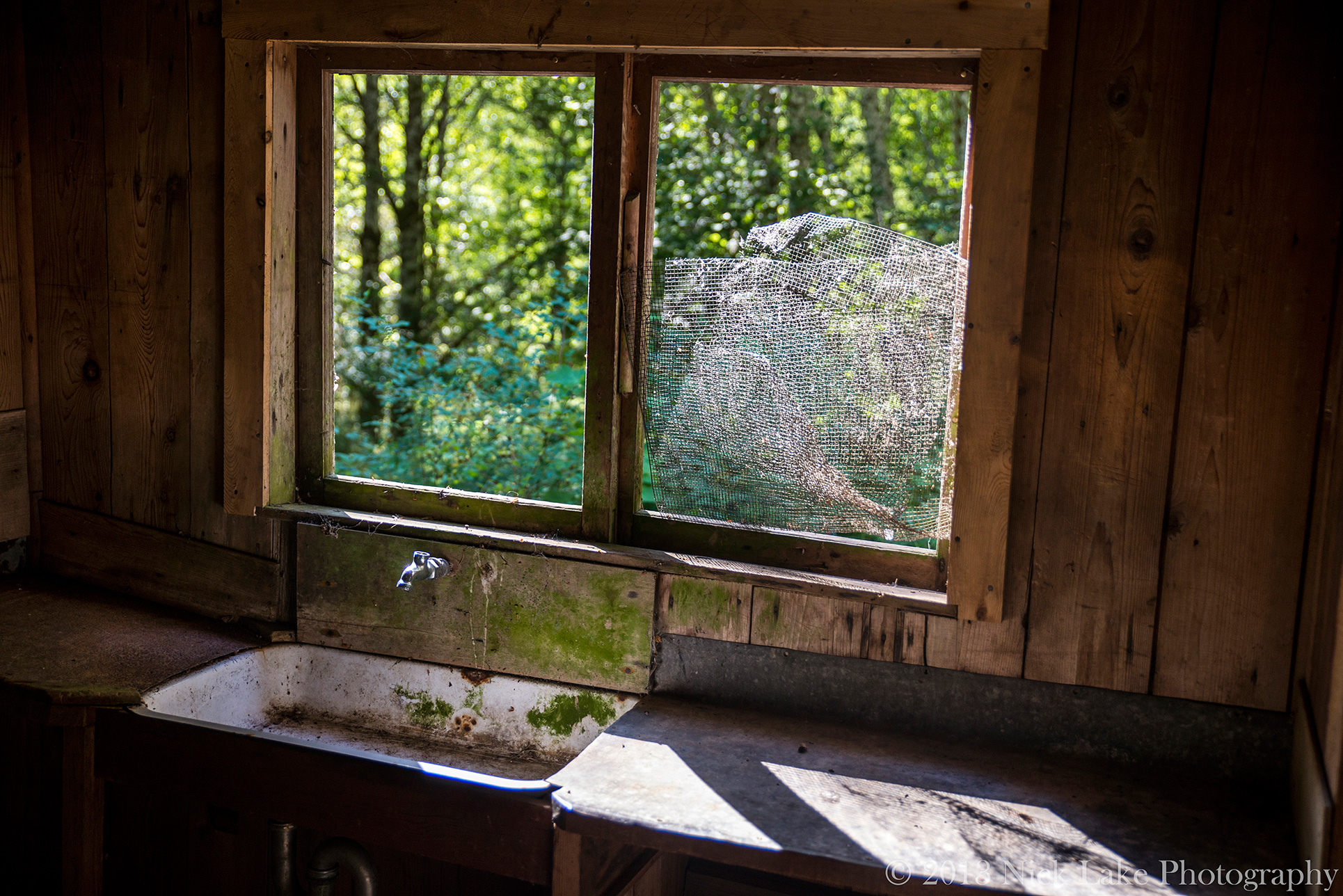 Homestead Kitchen Window Olympic National Park