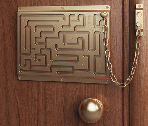 door maze