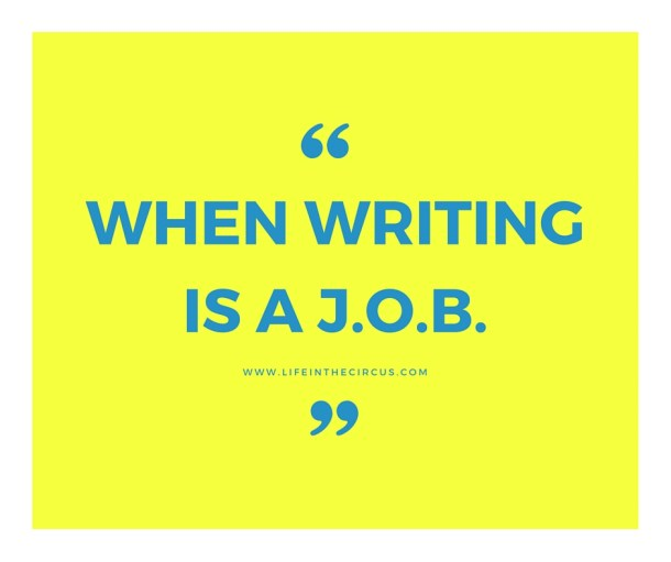 When Writing is a J.O.B.