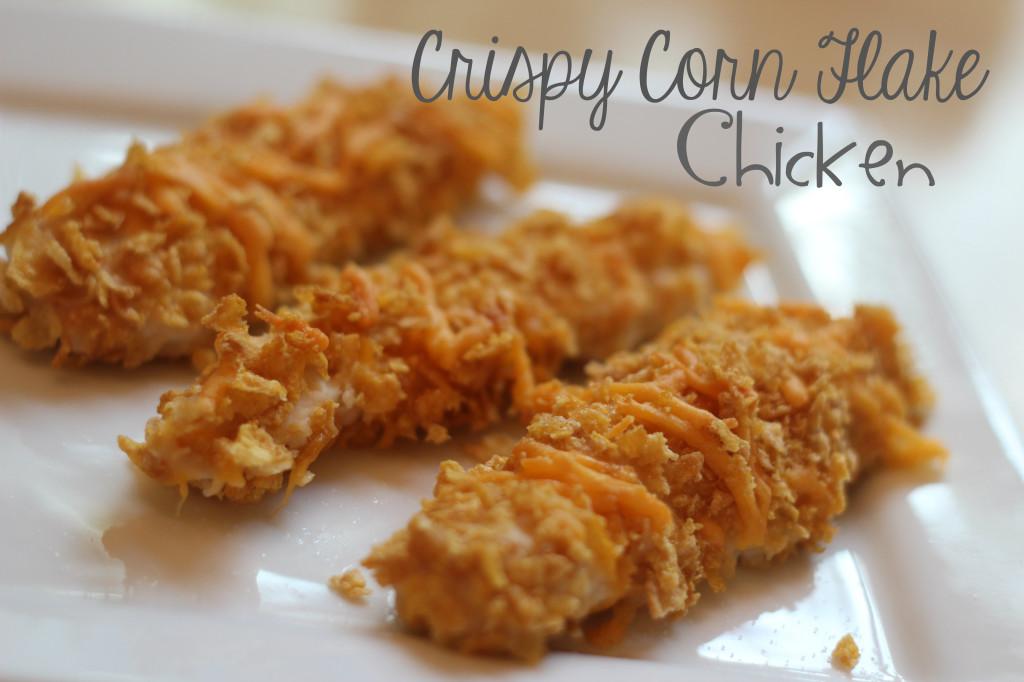 crispy corn flake chicken recipe
