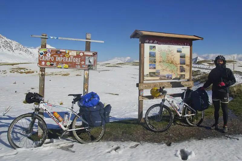 campo imperatore bici