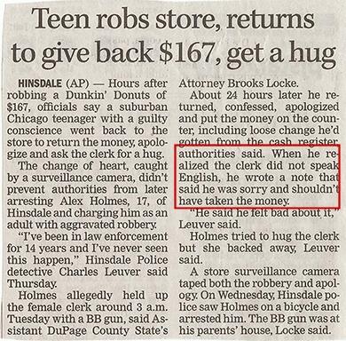 Teen Robbery