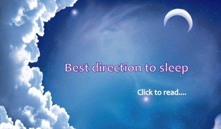 what is the best direction to sleep
