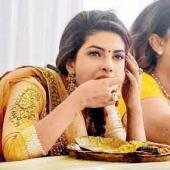 eating poori