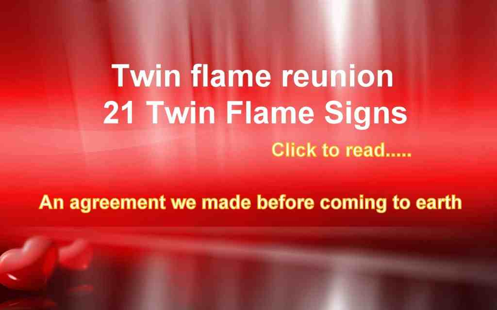 21 Twin Flame Signs, Twin Soul, Soulmates and Karmic