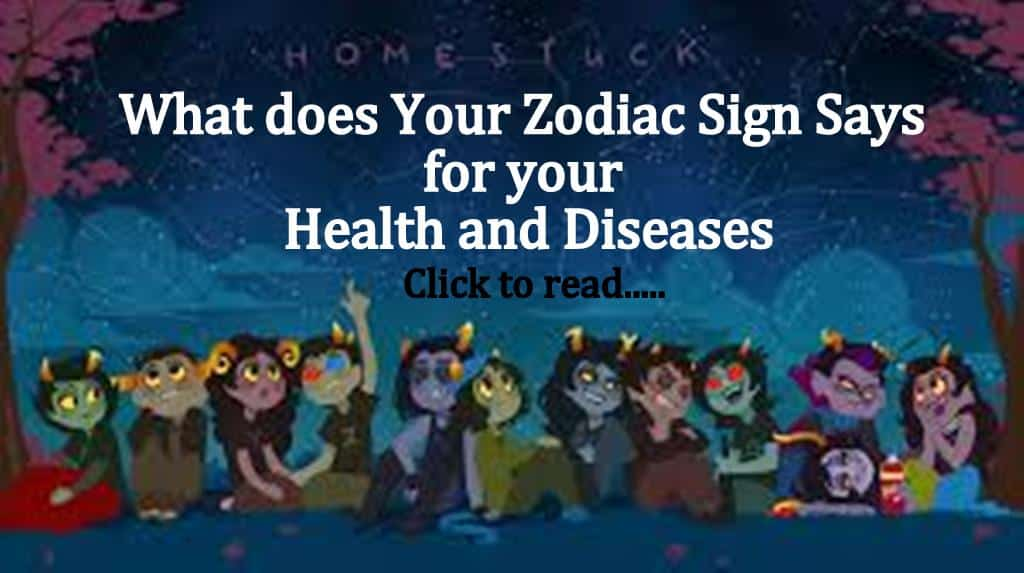 12 Zodiac Signs & Your Health Problems - Life In Vedas
