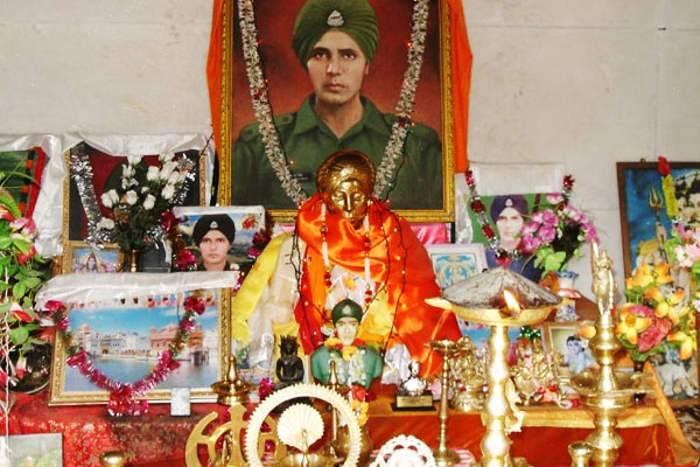 Ghost Soldier Duty Indian Army Baba Harbhajan Singh