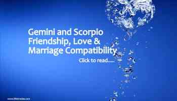 Cancer Scorpio compatibility for Love Marriage Friends - Life In Vedas