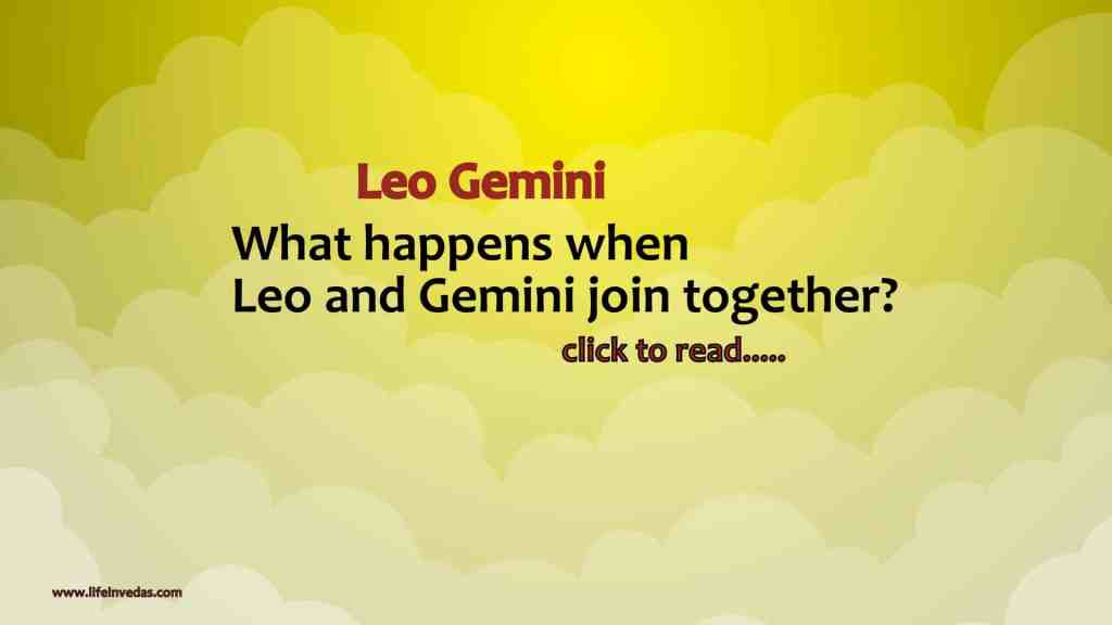 Gemini and Leo Compatibility in Love, Marriage and