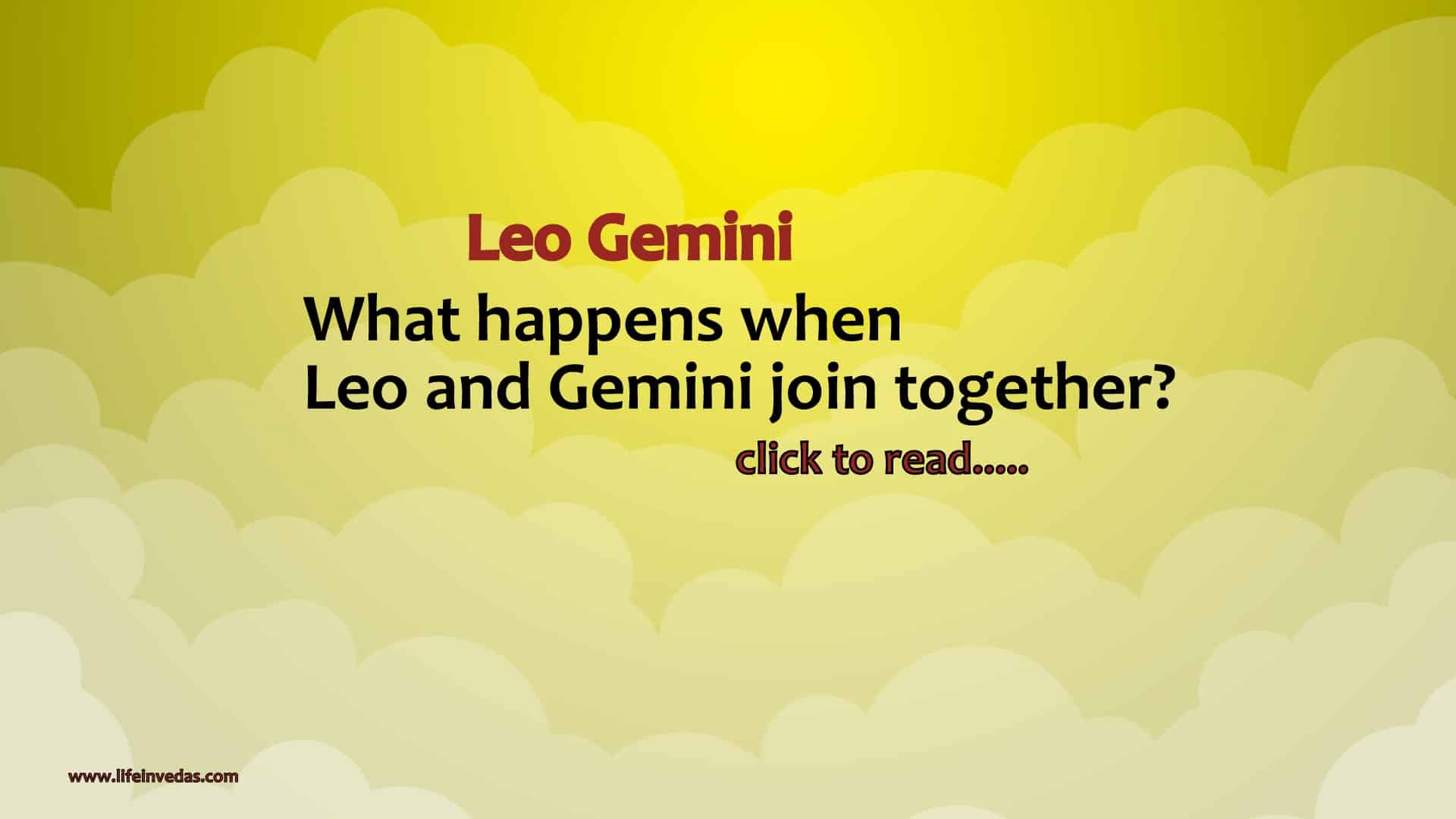 Gemini Leo Compatibility in Love, Marriage and Friendship - Life In