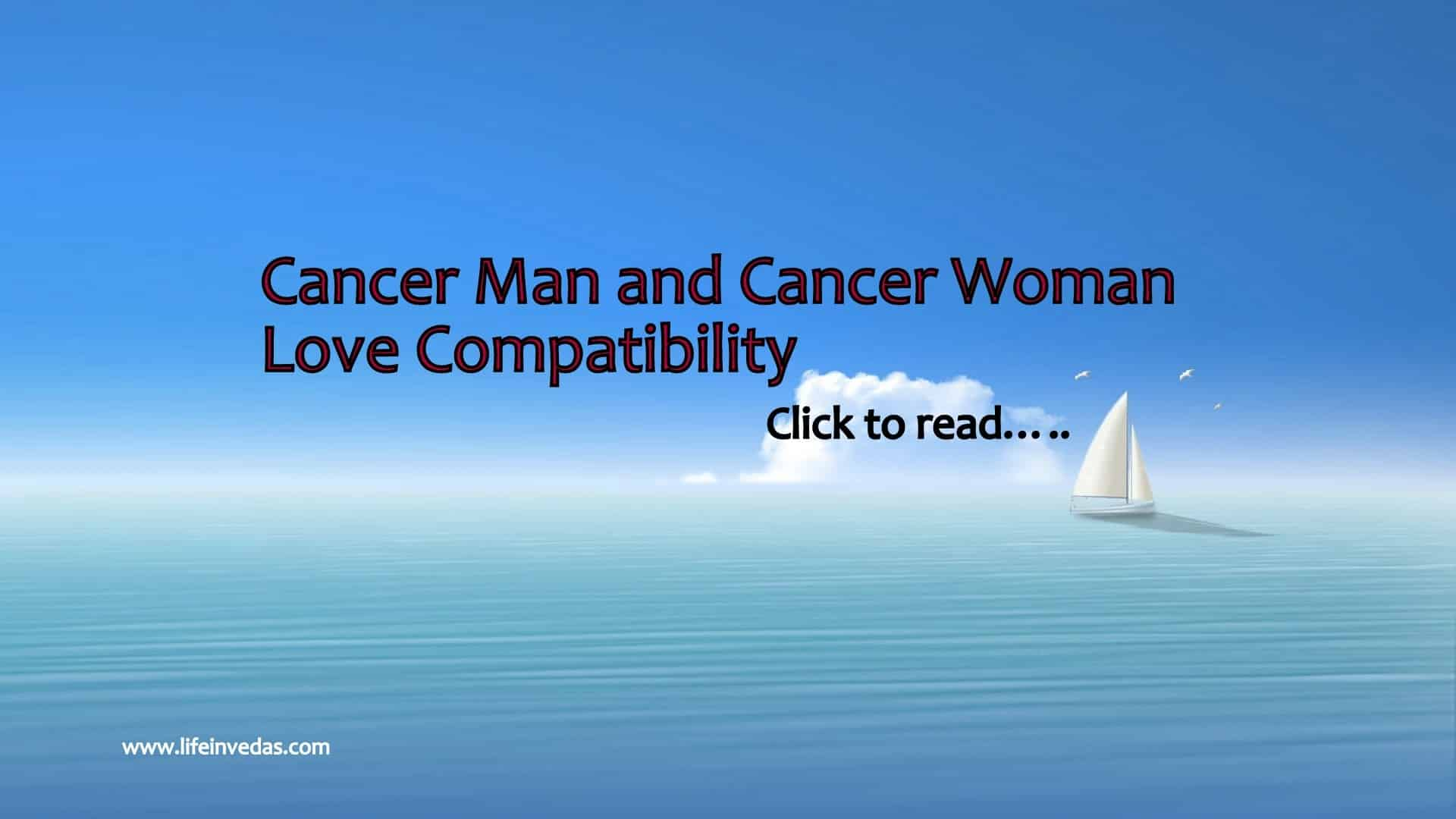 Cancer and Cancer Compatibility for Love, Marriage, Friendship