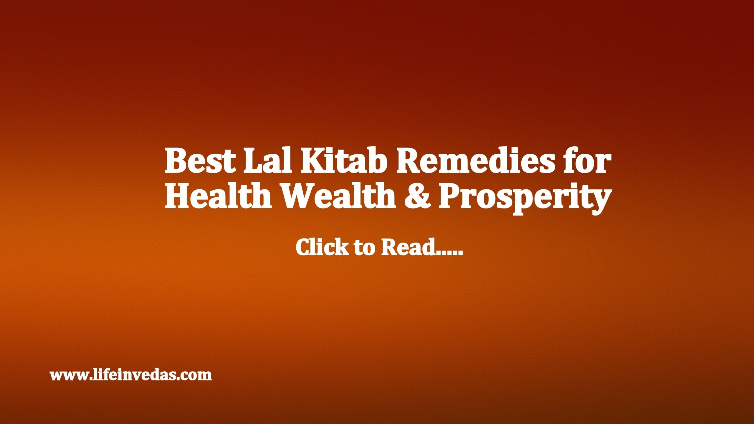 100 Lal Kitab Upay & Remedies for Health, Wealth Money - Life In Vedas