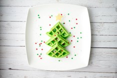 Christmas Breakfast Ideas for Kids - Waffles