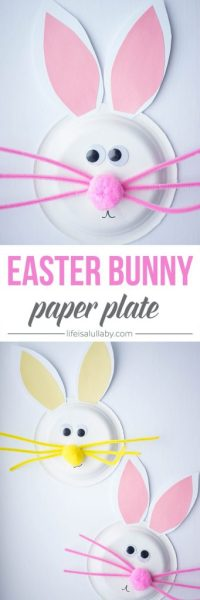 Paper Plate Easter Bunny Craft - The Best Ideas for Kids