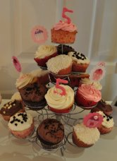 Cupcake Bakery Birthday