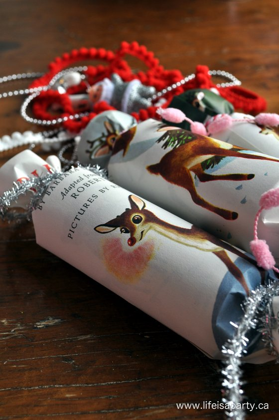 Vintage Inspired Homemade Christmas Crackers Life Is A Party
