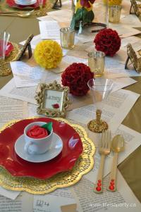 """Beauty and the Beast Party -Part I """"The Decorations and ..."""