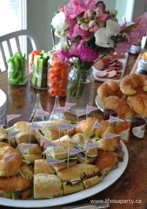 Paris Birthday Party Food -french Menu Ideas Kid Friendly