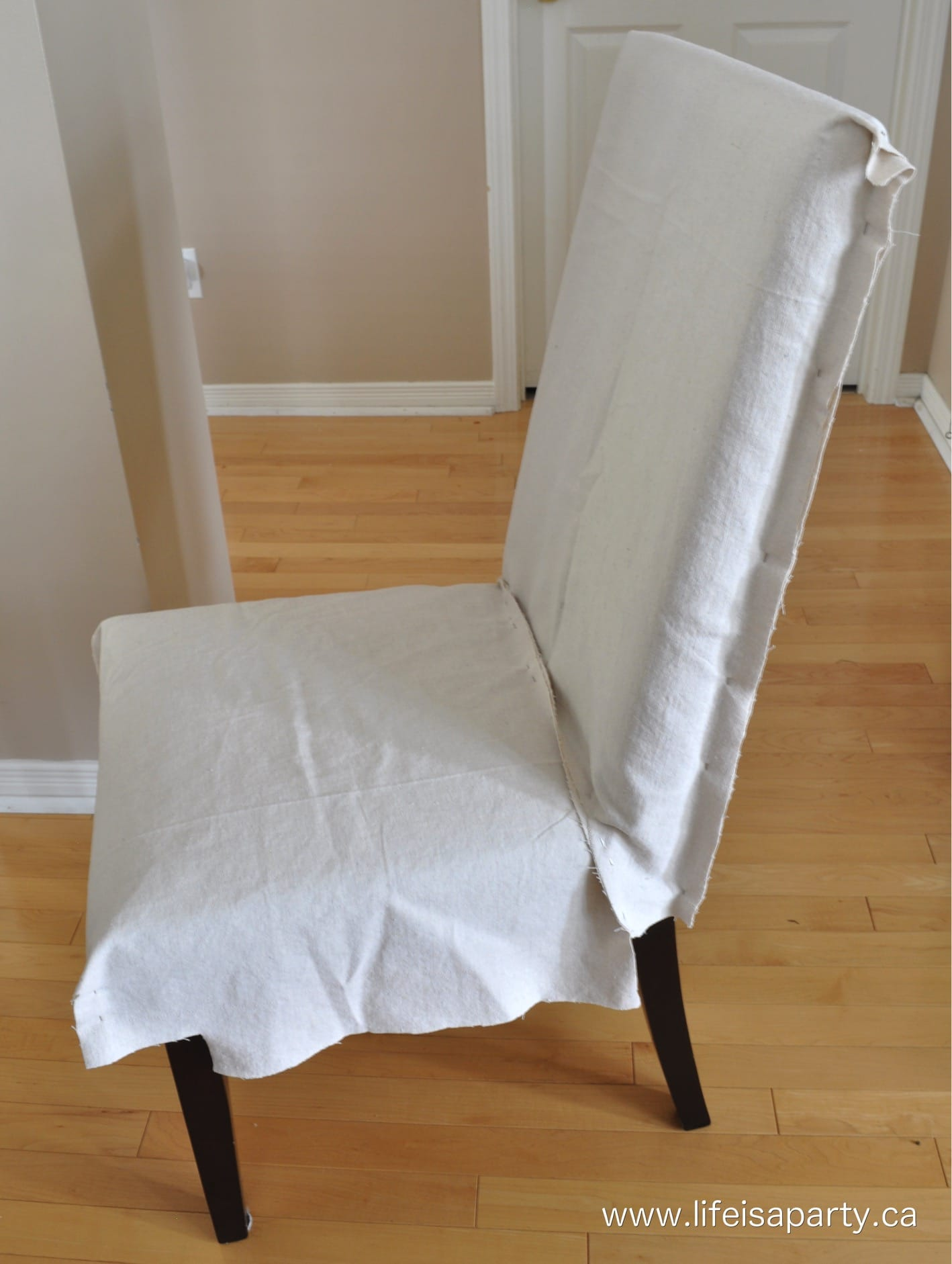 Parson Chair Slipcovers  Life is a Party