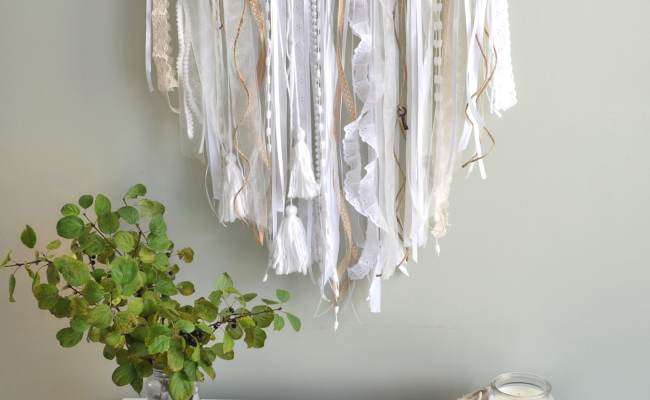 Ribbon Wall Hanging Life Is A Party