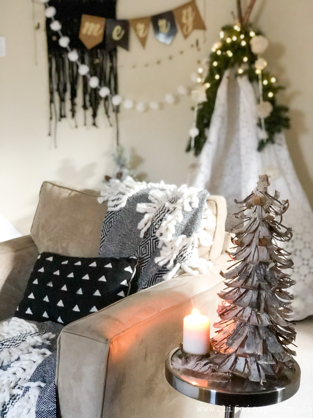 Boho Christmas Life Is A Party