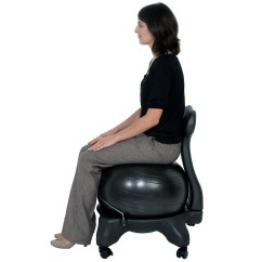 Balance Posture Chair White Plastic Lounge Chairs Outdoor Exercise Ball Life Is Better With This