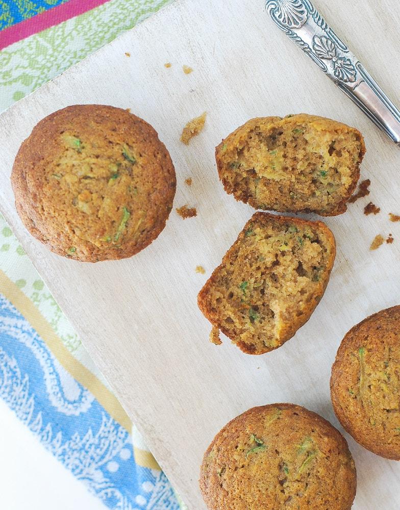 Zucchini Muffins-5