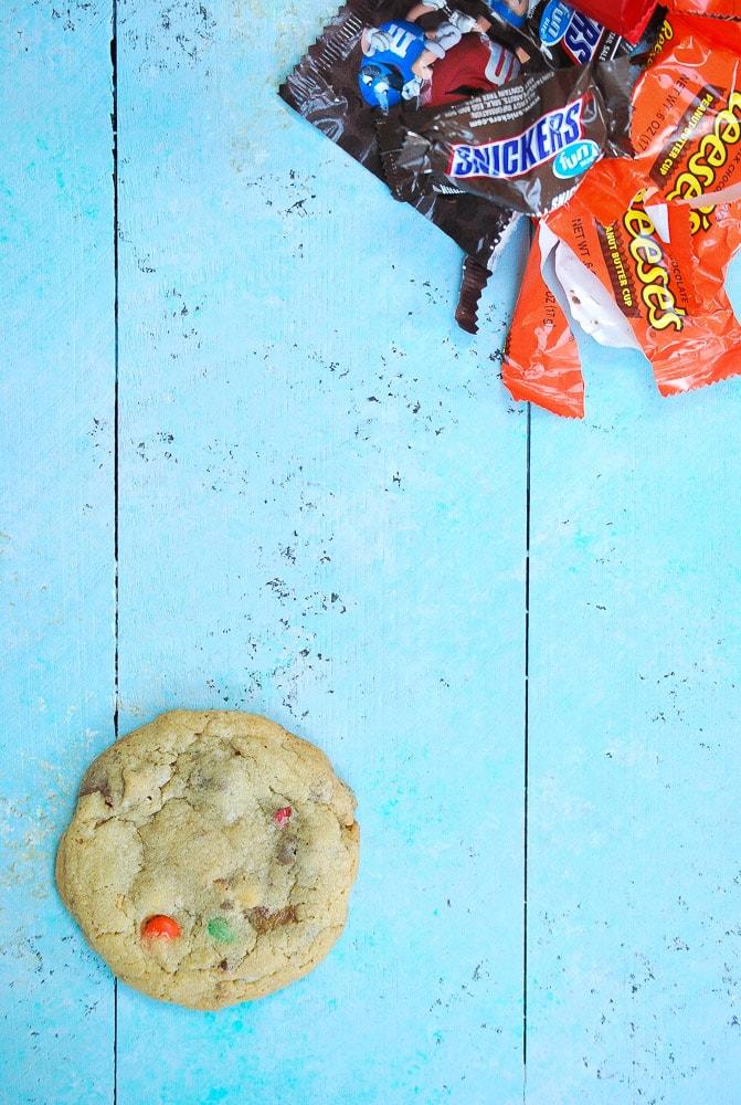 Halloween Candy Cookies-2