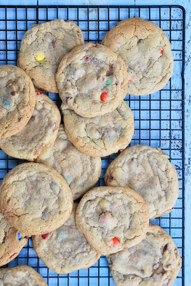 Halloween Candy Cookies-5