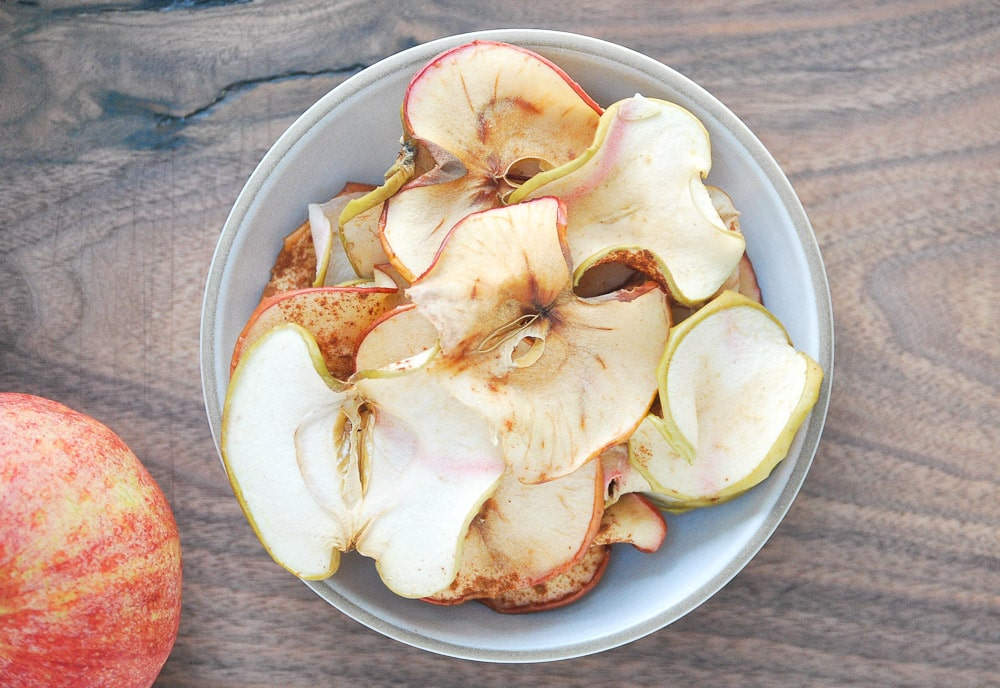 Baked Apple Chips-6