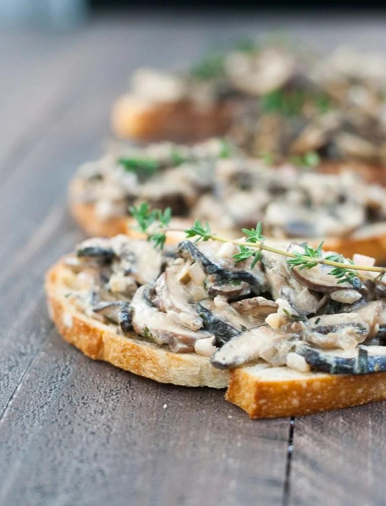 Mushroom Toasts-4