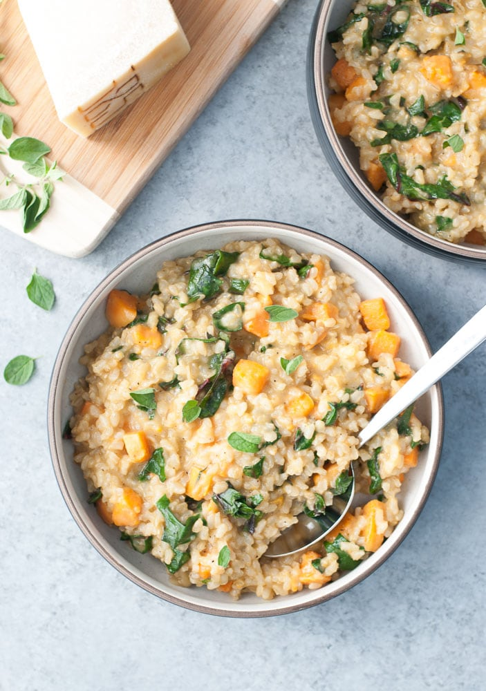 Sweet Potato & Red Chard Brown Rice Risotto_-6