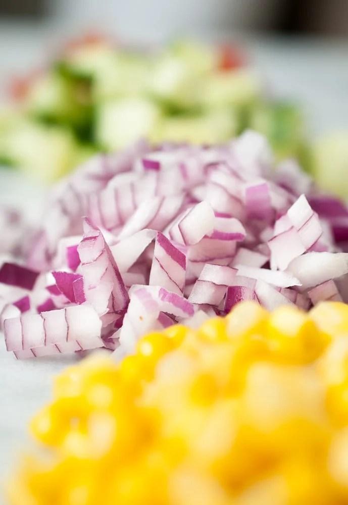 Simple Quinoa Salad-2